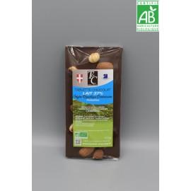 Tablette Chocolat lait 37% Noisettes