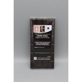 Tablette Chocolat Noir 100%
