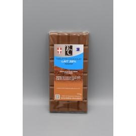 Tablette Chocolat lait 38% Caramel