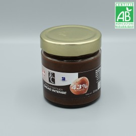pâte à tartiner cacao intense