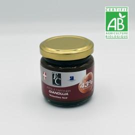 pâte à tartiner gianduja noisette noir