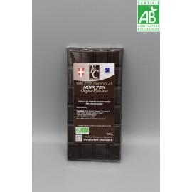 Tablette Chocolat Noir 72% Equateur
