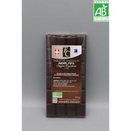 Tablette Chocolat Noir 72% Café